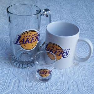 Los Angeles Lakers Glassware Set (3 pc)